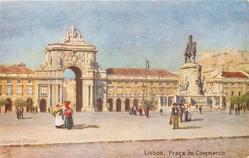 LISBOA (PORTUGAL), PRACA DO COMMERCIO