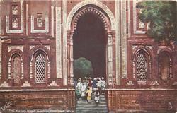 THE KUTUB MINAR, ALA-OOD-DIN'S TOMB, DELHI