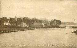 ARDNAREE CHURCH AND RIVER MOY