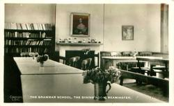 THE GRAMMAR SCHOOL, THE DINING ROOM