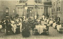 OPEN-AIR DINING GARDEN, AT THE LA CORONA, THE HOME OF THE EPICURE