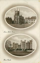 2 insets TOWN HALL, DUNS//DUNS CASTLE