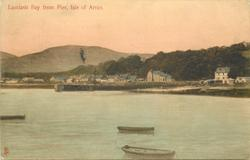 LAMLASH BAY FROM PIER