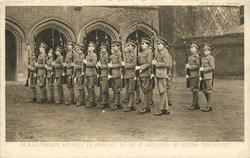 H.R.H. PRINCE HENRY LEARNING TO BE A SOLDIER AT ETON COLLLEGE
