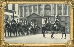 CHANGING GUARD AT WHITEHALL