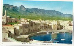 GENEREAL VIEW, KYRENIA HARBOUR