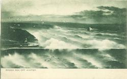ROUGH SEA OFF WHITBY