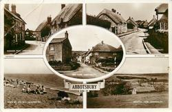 5 insets RODDEN ROW/WEST STREET/RED LANE/DOWN BY THE SEA/GENERAL VIEW