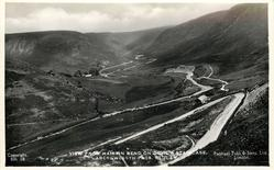 VIEW FROM HAIRPIN BEND ON DEVILS STAIRCASE, ABERGWESSYN PASS, BEULAH