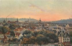 BLICK AUF SPARENBURG U. JOHANNISBERG