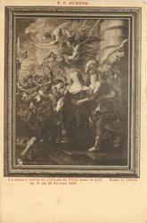 LE REINE S'ENFUIT DU CHATEAU DE BLOIS DANS LA NUIT DU 21 AU 22 FEVRIER 1619