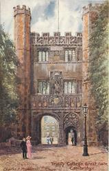 TRINITY COLLEGE, GREAT GATE