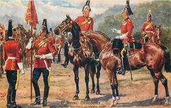 THE REGIMENT IN REVIEW ORDER