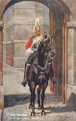 ON KING'S GUARD, WHITEHALL