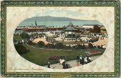 THE GARDENS AND BANDSTAND