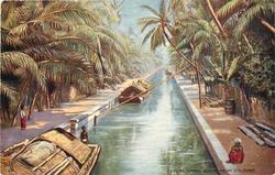 CANAL SCENE NEAR COLUMBO