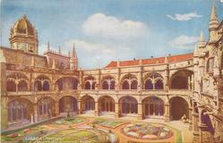 LISBOA (PORTUGAL), CLAUSTRO DOS JERONYMOS - BELEM