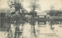 THE SWAN POND, BALDOVIE