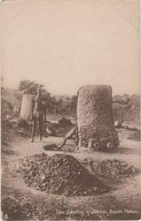 IRON SMELTING BY JUKUNS, BAUCHI PLATEAU