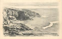 ST. MERRYN, CLIFFS AT TREVOSE