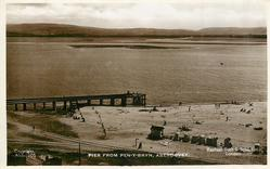 PIER FROM PEN-Y-BRYN