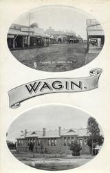 TUDHOE ST. WAGIN, W.A. and STATE SCHOOL, WAGIN, W.A.