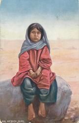 AN AFRIDI GIRL