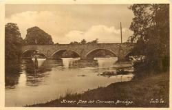 RIVER DEE AT CORWEN BRIDGE