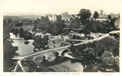 DINNAM BRIDGE AND CASTLE