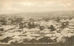 ABEOKUTA FROM THE OLUMO ROCK