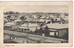WAGIN, W.A.street scene