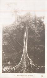 A SUSPENSION BRIDGE