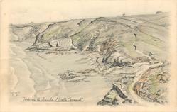 TREBARWITH SANDS, NORTH CORNWALL