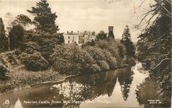 ANTRIM CASTLE FROM THE MASSEREENE BRIDGE