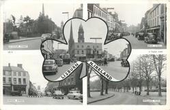5 insets SEYMORE STREET, BOW STREET, LISBURN N. IRELAND/BRIDGE STREET/WALLACE PARK