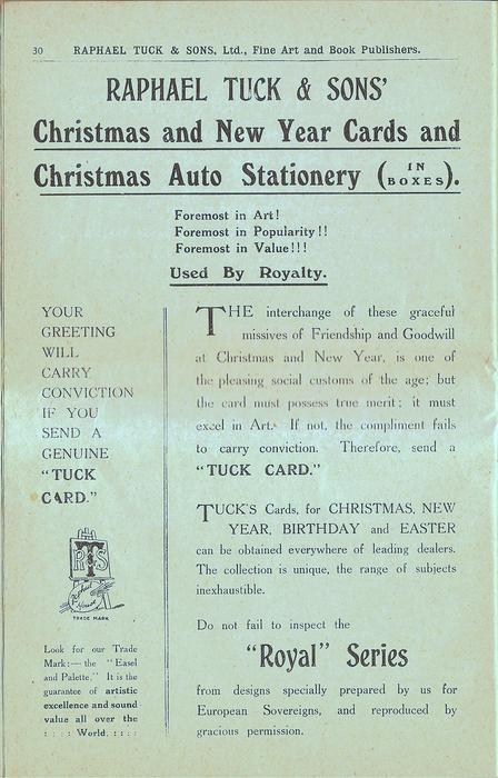 CHRISTMAS AND NEW YEAR CARDS AND CHRISTMAS AUTO STATIONERY (IN BOXES)