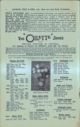"""THE """"OILETTE"""" SERIES, VERITABLE MINIATURE OIL PAINTINGS"""