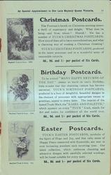 CHRISTMAS POSTCARDS, BIRTHDAY POSTCARDS, EASTER POSTCARDS