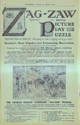 ZAG-ZAW (REGISTERED), THE ROYAL PICTURE PLAY PUZZLE