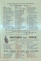 "THE ""HUMOROUS"" SERIES - CONTD., POSTCARDS FROM ""PUNCH"""