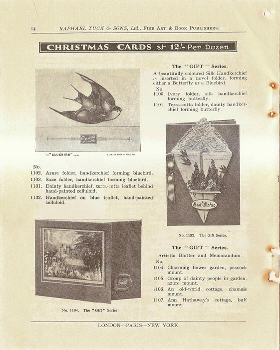 """CHRISTMAS CARDS THE """"GIFT"""" SERIES"""