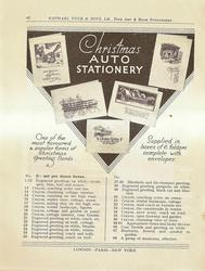 CHRISTMAS AUTO STATIONERY