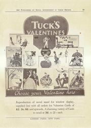 TUCK'S VALENTINES