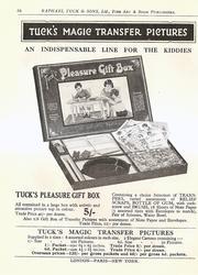 TUCK'S MAGIC TRANSFER PICTURES, TUCK'S PLEASURE GIFT BOX