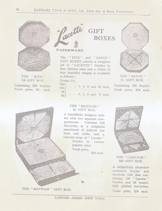 LACETTE GIFT BOXES