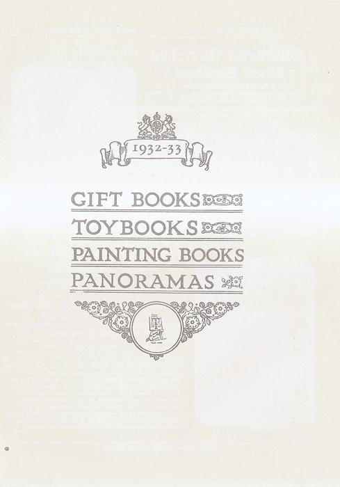 GIFT BOOKS  TOY BOOKS  PAINTING BOOKS  PANORAMAS