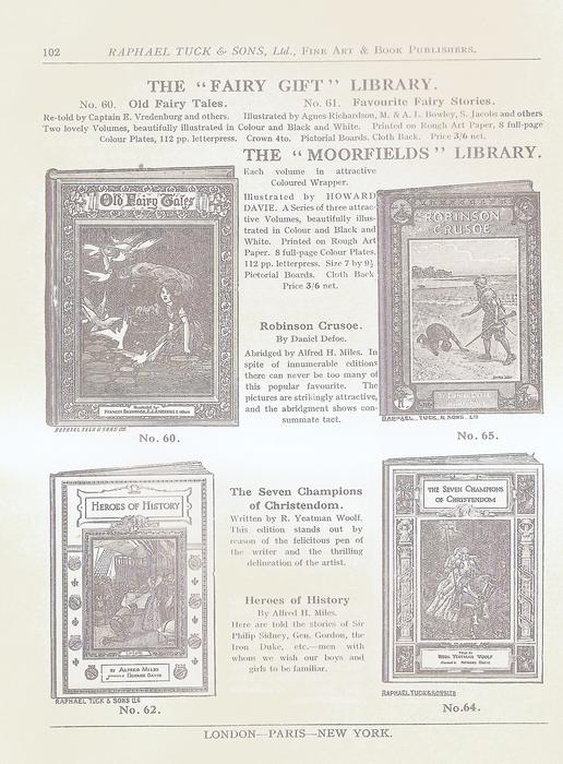 THE FAIRY GIFT LIBRARY - THE MOORFIELDS LIBRARY