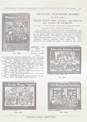PICTURE TRANSFER BOOKS