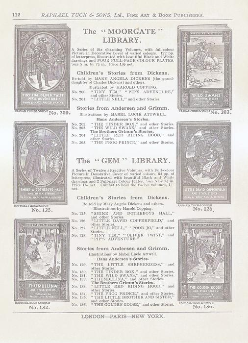 THE MOORGATE LIBRARY - THE GEM LIBRARY