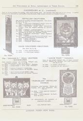 CALENDARS AT 1/- (CONTINUED)